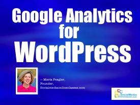 google analytics for wordpress tutorial