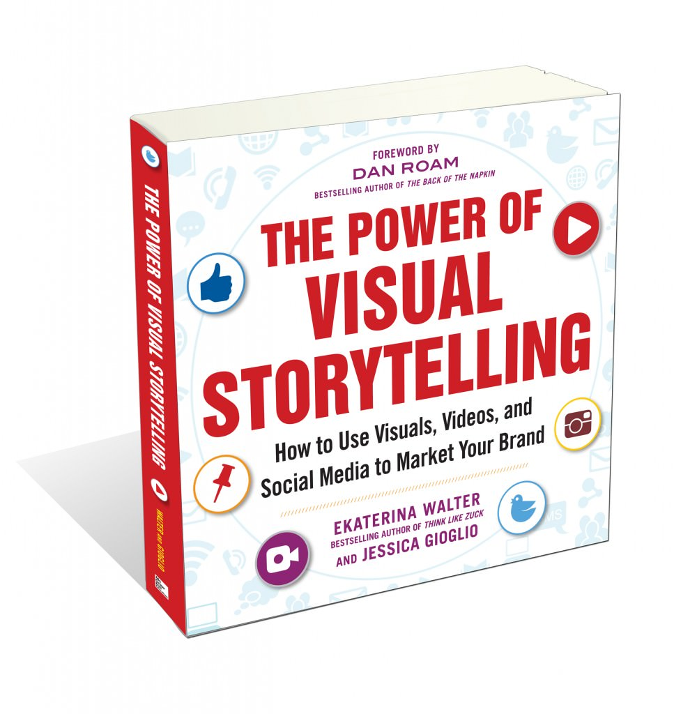 Interview with Ekaterina Walter - co-author of Visual Storytelling