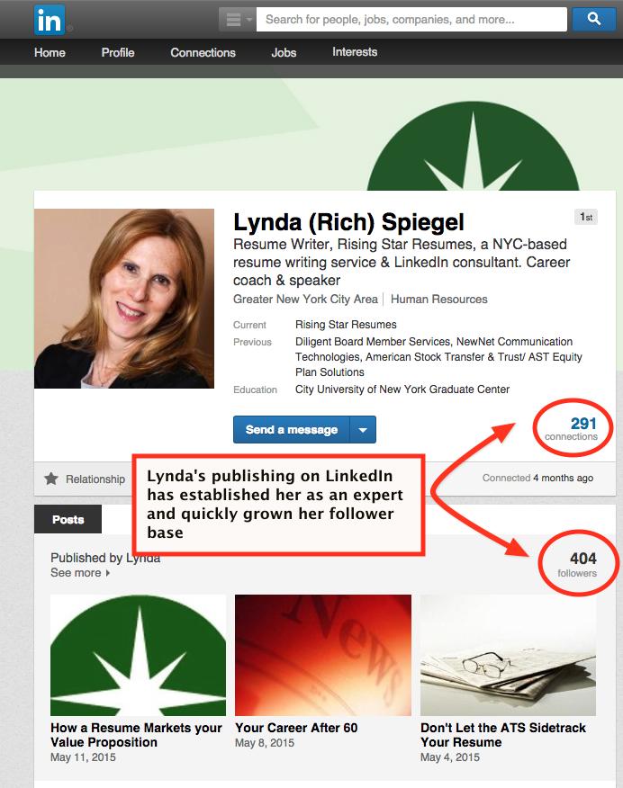 lynda spiegel linkedin case study Socialmediaonlineclasses.com