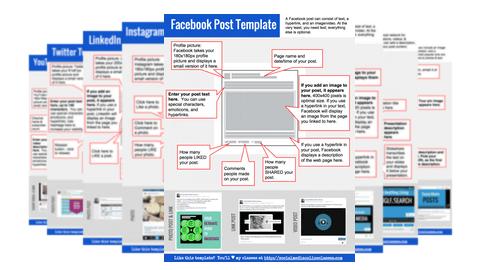 perfect social media post all 8 templates