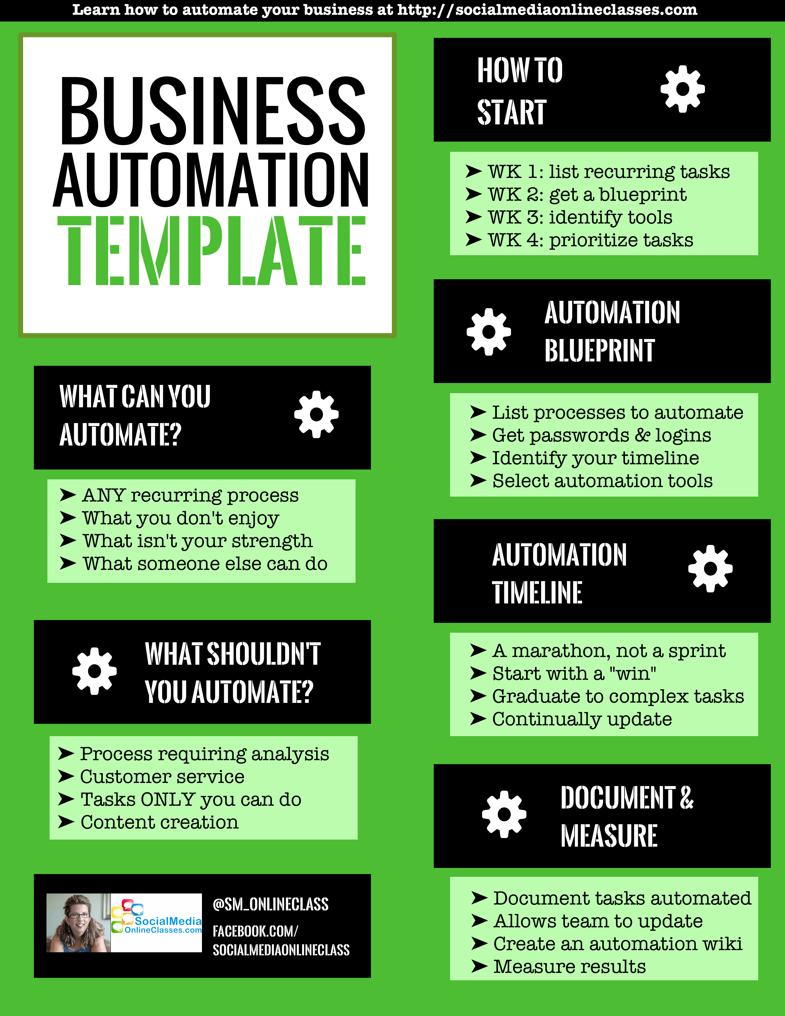 BUSINESS AUTOMATION TEMPLATE