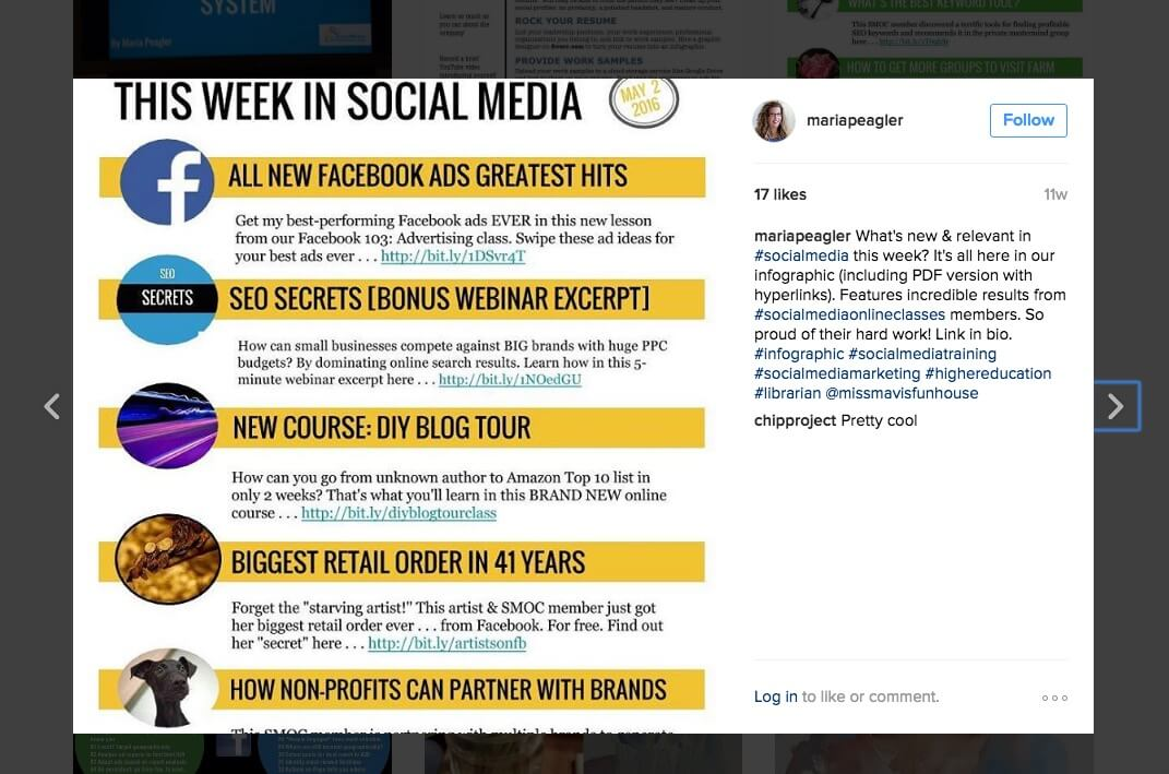 content marketing instagram hashtag