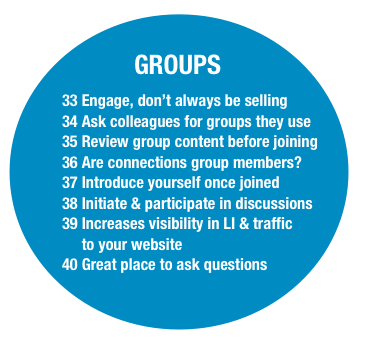 linkedin infographic groups Socialmediaonlineclasses